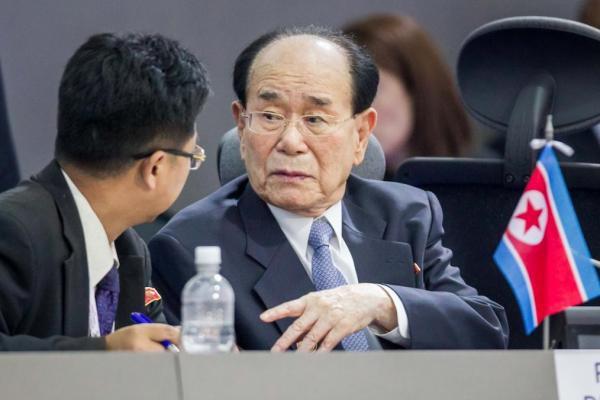 Chủ tịch Hội đồng Nhân dân tối cao Triều Tiên sang Hàn Quốc - Ảnh 1.