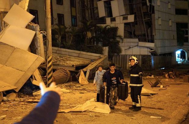 Động đất rung chuyển Đài Loan, 2 người chết, 200 người bị thương - Ảnh 6.