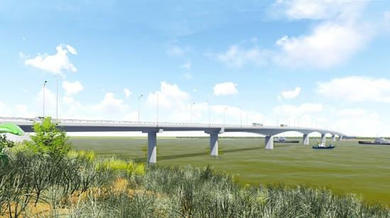 Cầu Cửa Hội qua sông Lam sẽ chuyển từ BOT sang đầu tư công - Ảnh 1.