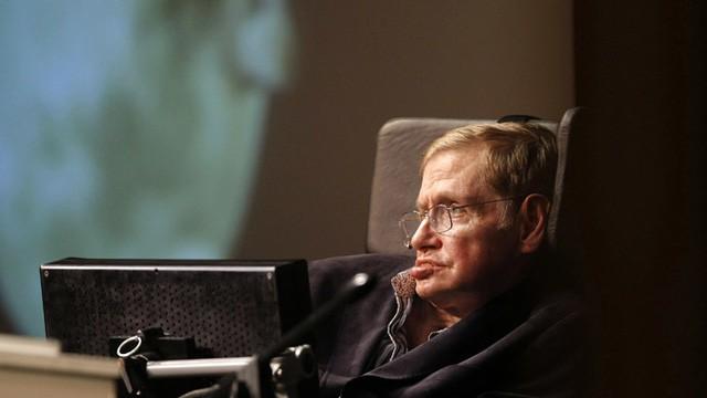 Nhà khoa học vũ trụ Stephen Hawking qua đời - Ảnh 1.