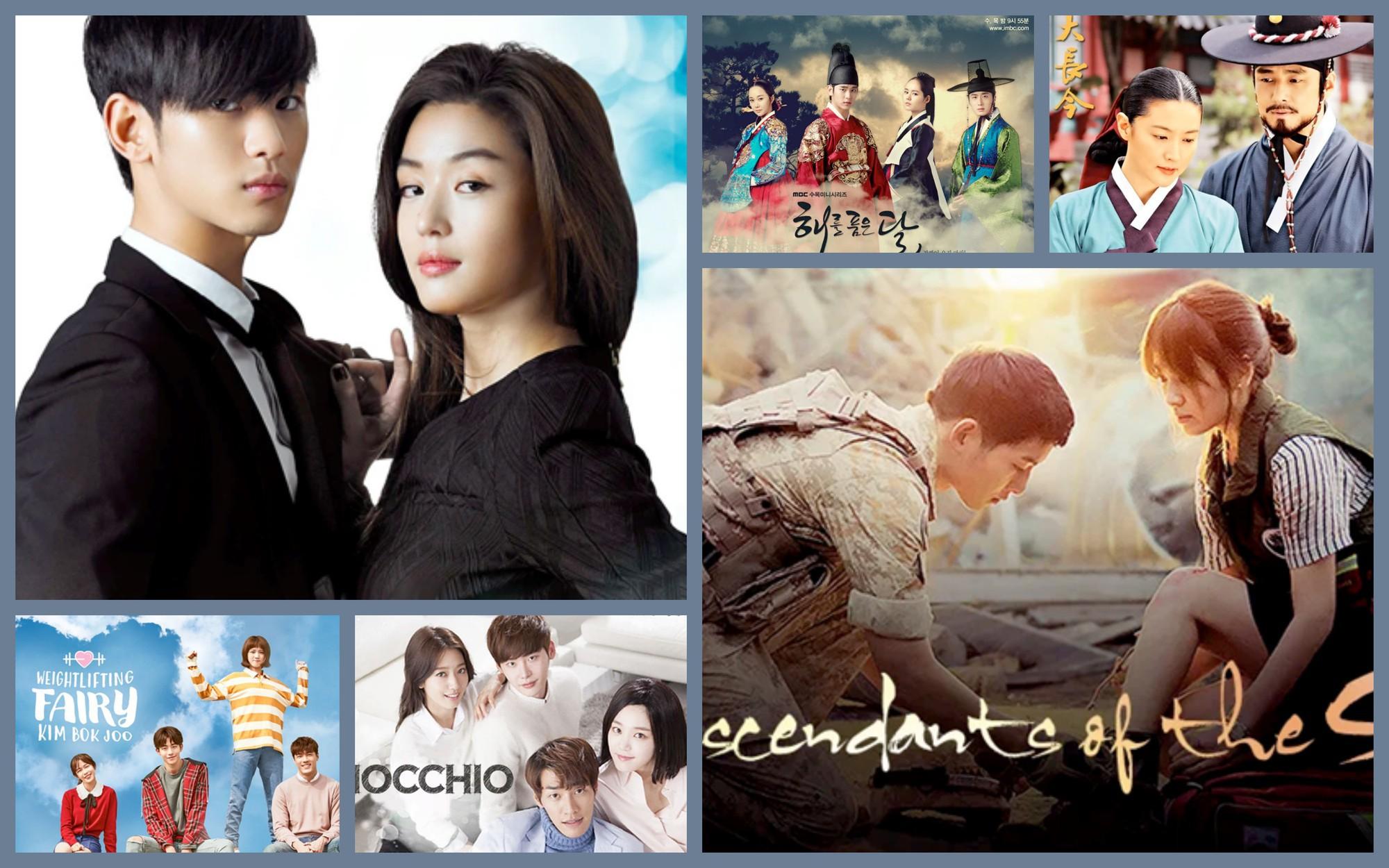 Điểm mặt 15 phim truyền hình Hàn làm fan điêu đứng