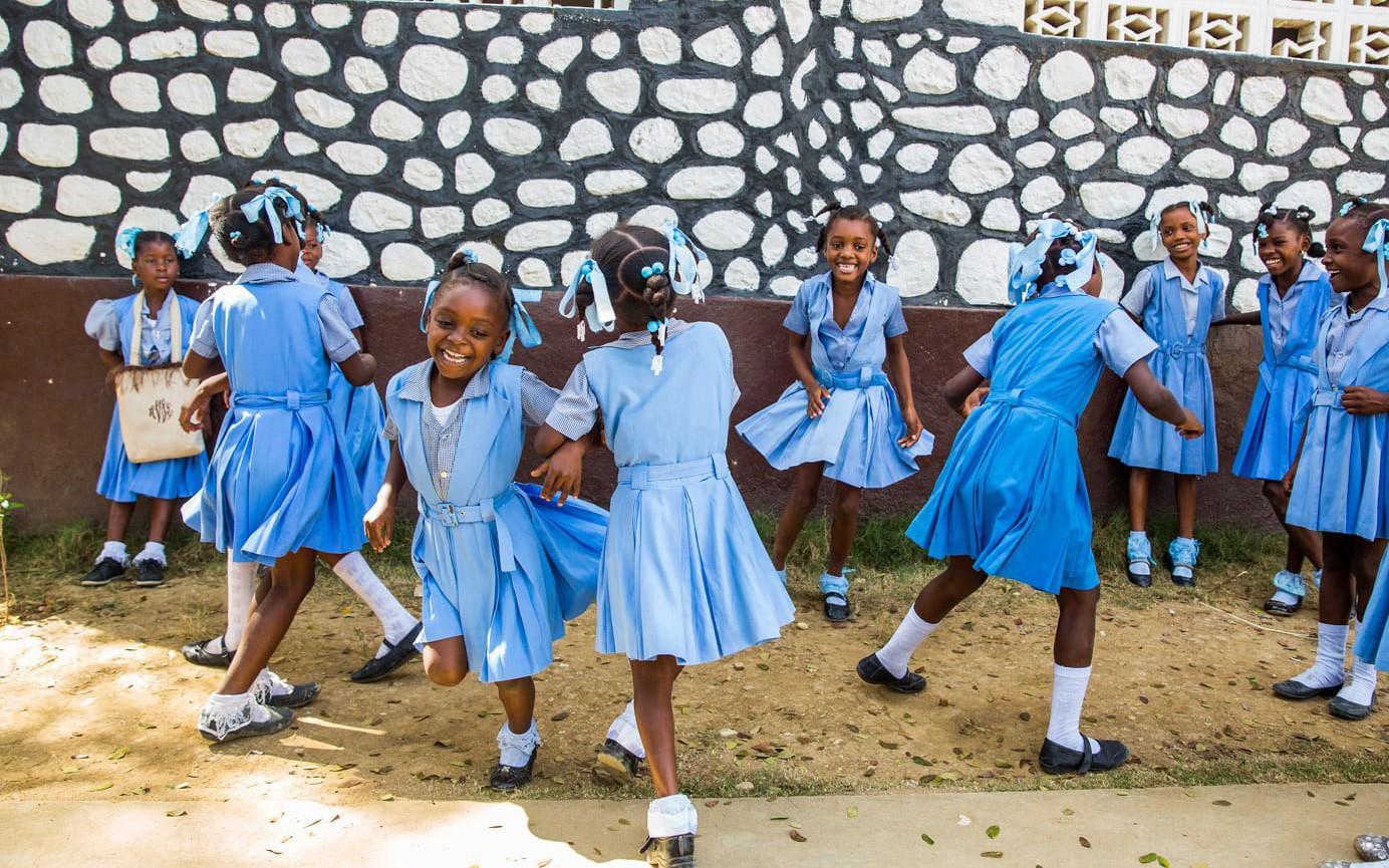 Những hình ảnh sống động từ Haiti