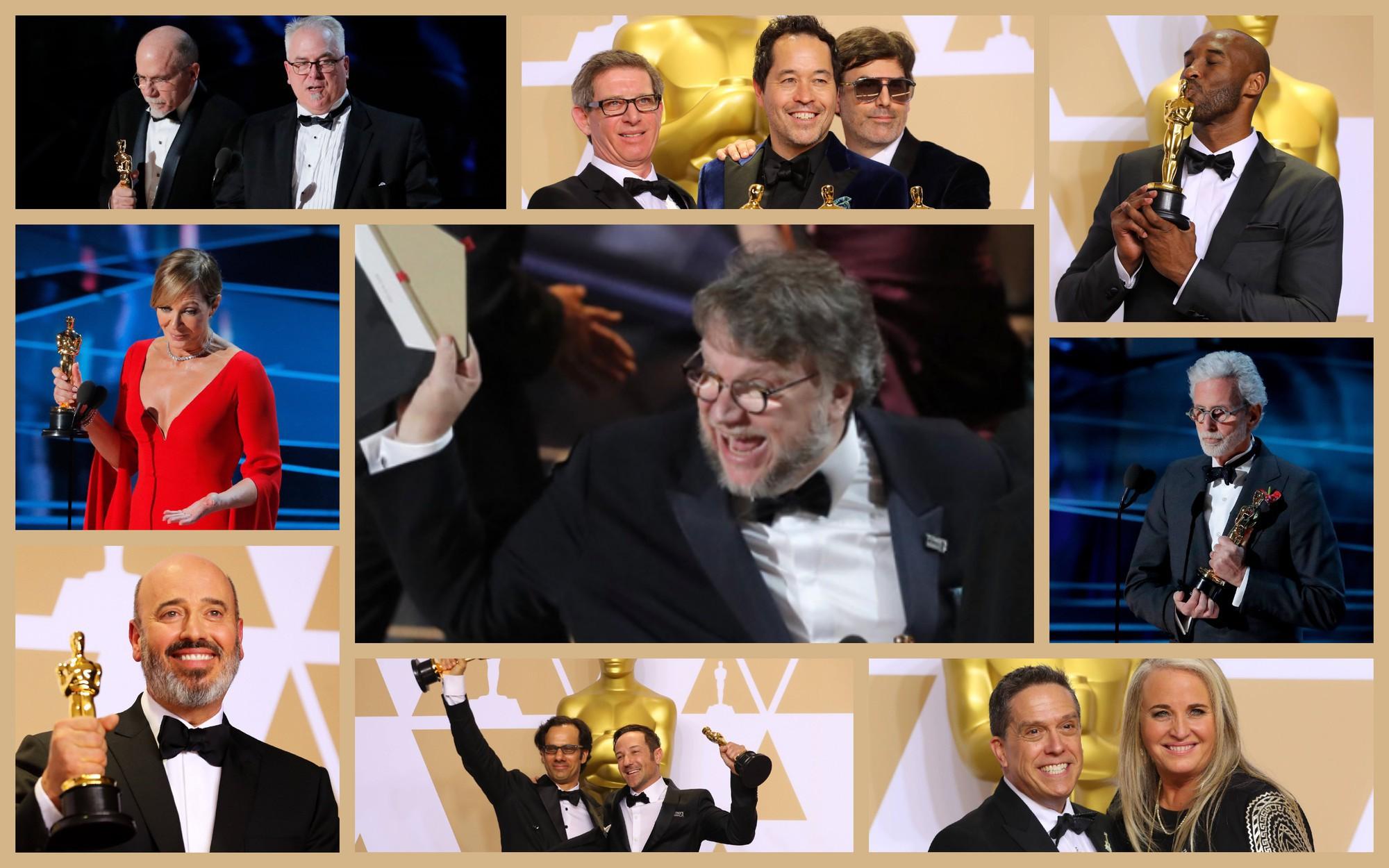 Oscar lần thứ 90: 'The Shape of Water' đoạt tượng vàng phim hay nhất