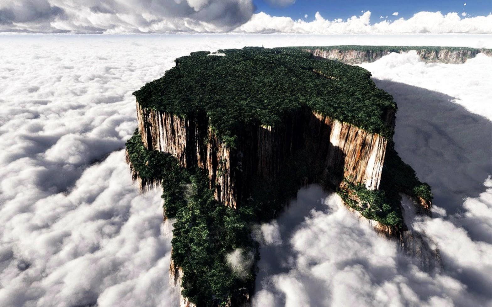 'Hòn đảo trên trời' kỳ ảo ở Venezuela