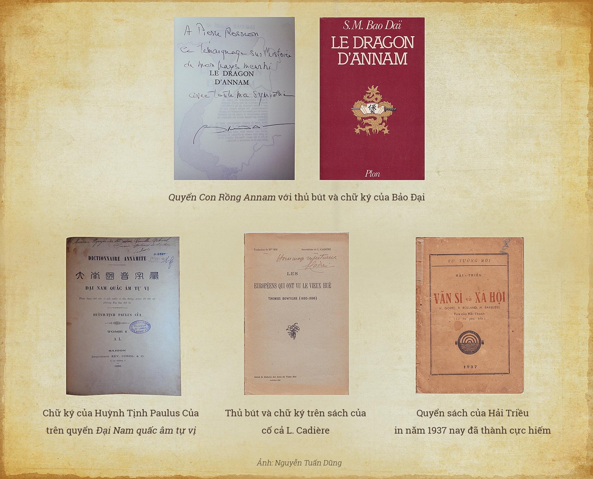 Sách quý hiếm của những nhà sưu tập khủng ở Sài Gòn - Ảnh 2.