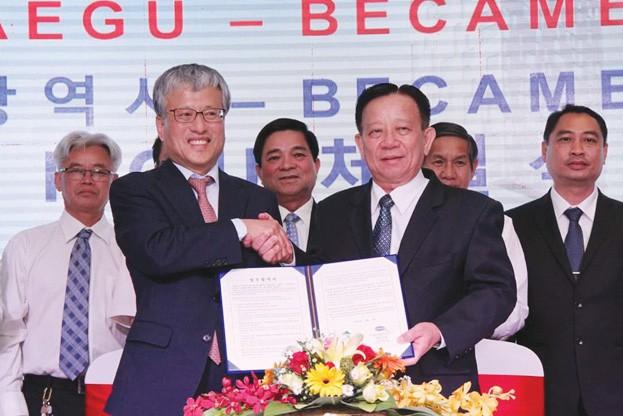 Bình Dương hợp tác Hàn Quốc  phát triển y tế - Ảnh 1.