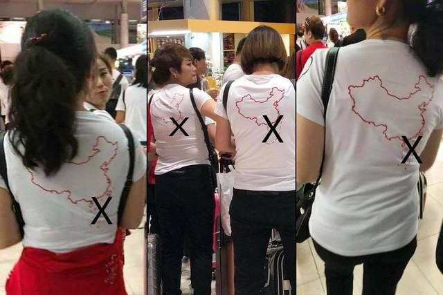 Vụ khách Trung Quốc mặc áo lưỡi bò vào Việt Nam: Rút kinh nghiệm - Ảnh 1.
