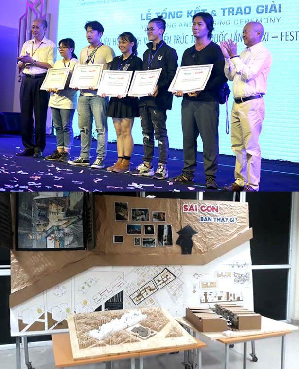 Duy Tân đạt nhiều giải tại Festival Kiến trúc 2018 - Ảnh 2.