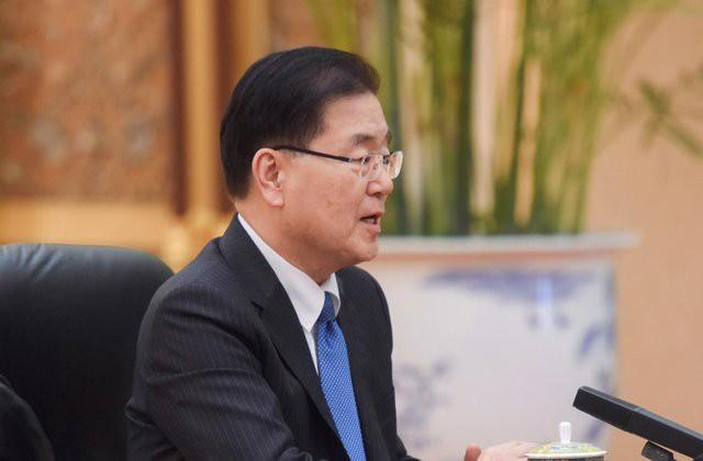 Hàn Quốc chuẩn bị cuộc gặp ông Donald Trump - Kim Jong Un - Ảnh 1.