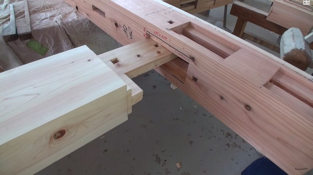 Nhà gỗ ghép trăm năm không hỏng của Nhật - Ảnh 2.