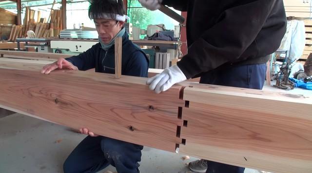 Nhà gỗ ghép trăm năm không hỏng của Nhật - Ảnh 3.