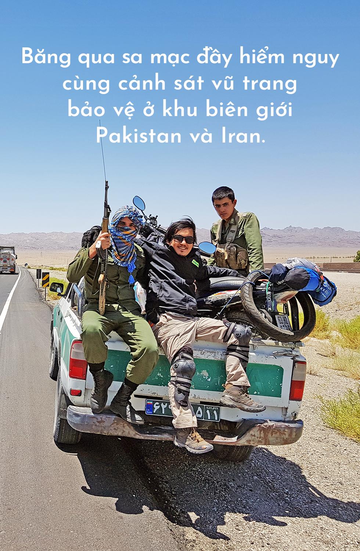Trần Đặng Đăng Khoa: Một năm đi nửa vòng Trái đất bằng xe máy - Ảnh 3.