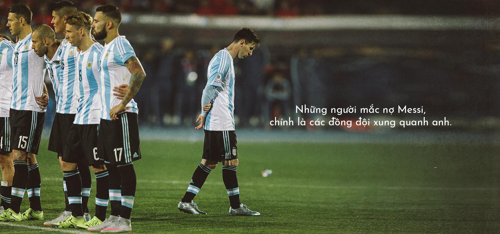 Tuyển Argentina hay Tuyển của Messi? - Messi sợ điều gì? - Ảnh 3.