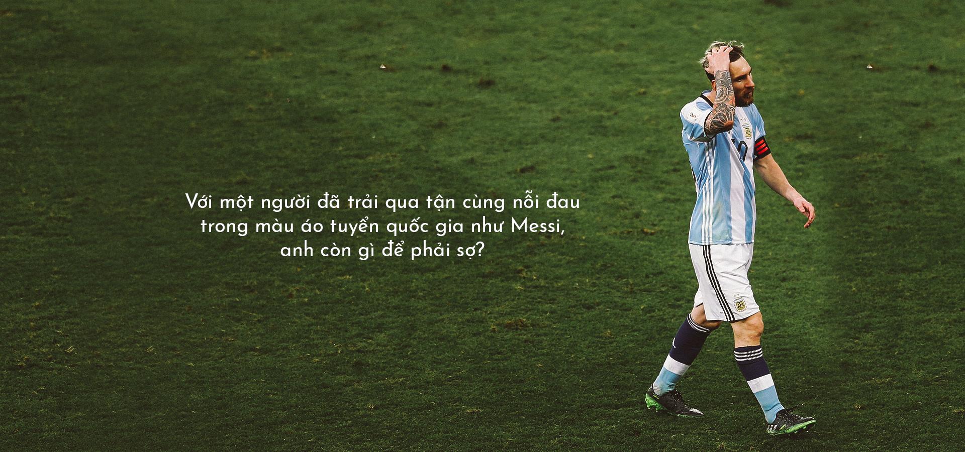 Tuyển Argentina hay Tuyển của Messi? - Messi sợ điều gì? - Ảnh 7.