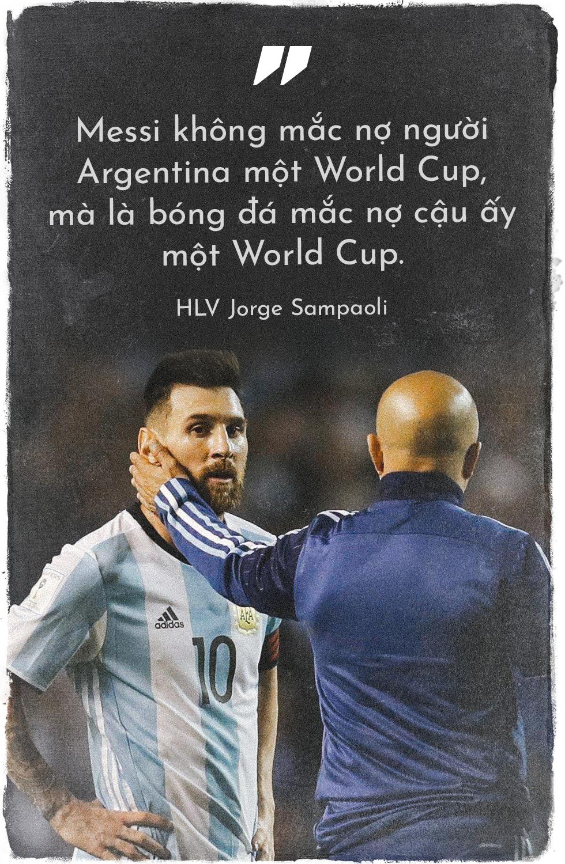 Tuyển Argentina hay Tuyển của Messi? - Messi sợ điều gì? - Ảnh 2.