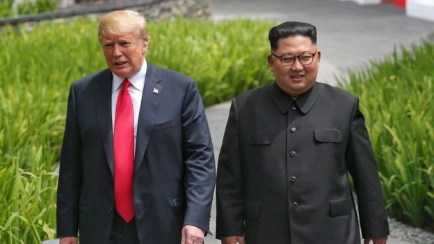 Hàn Quốc im lặng sau thông báo hủy tập trận của ông Trump - Ảnh 1.