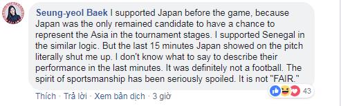 Cư dân mạng tranh cãi về cách đá như đi bộ của đội Nhật - Ảnh 2.