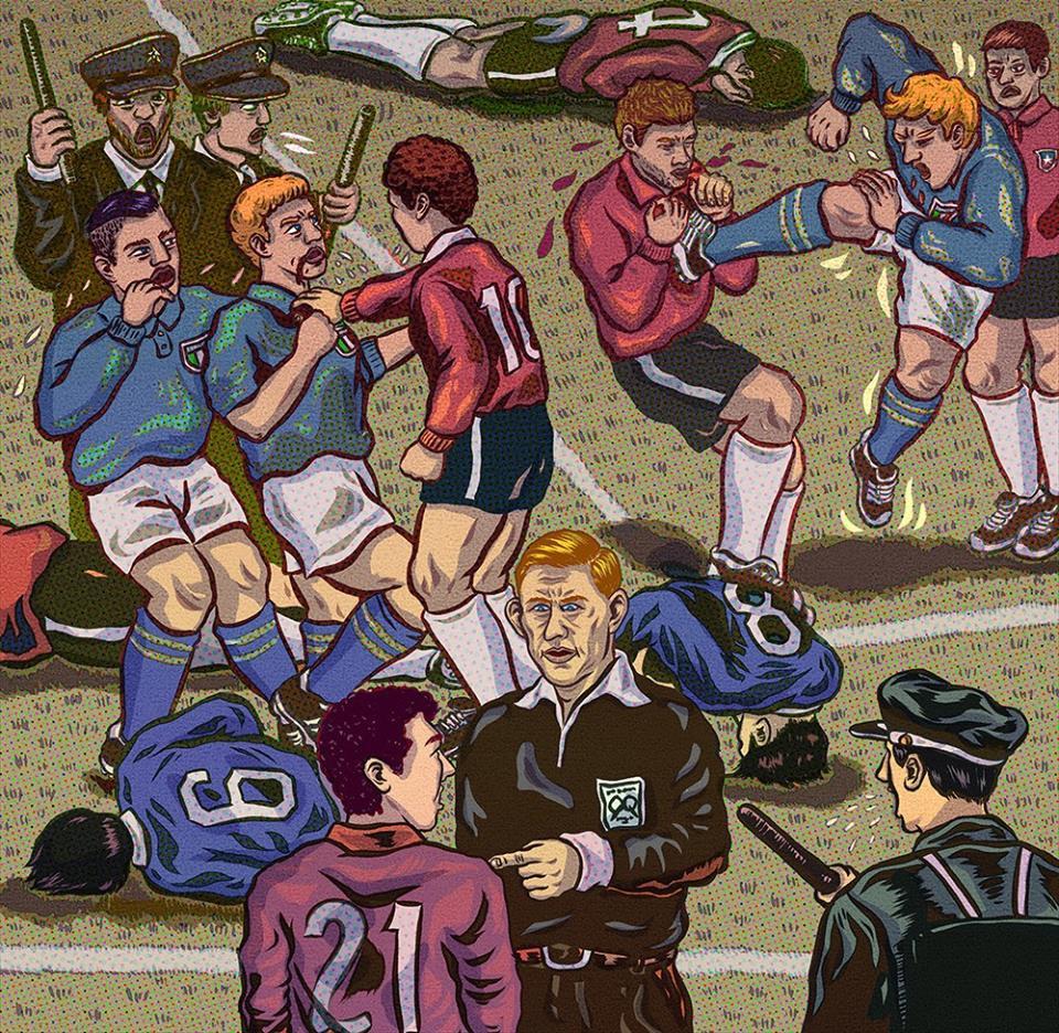 World Cup 1962: Từ động đất kinh hoàng đến trận đấu bạo lực nhất - Ảnh 8.