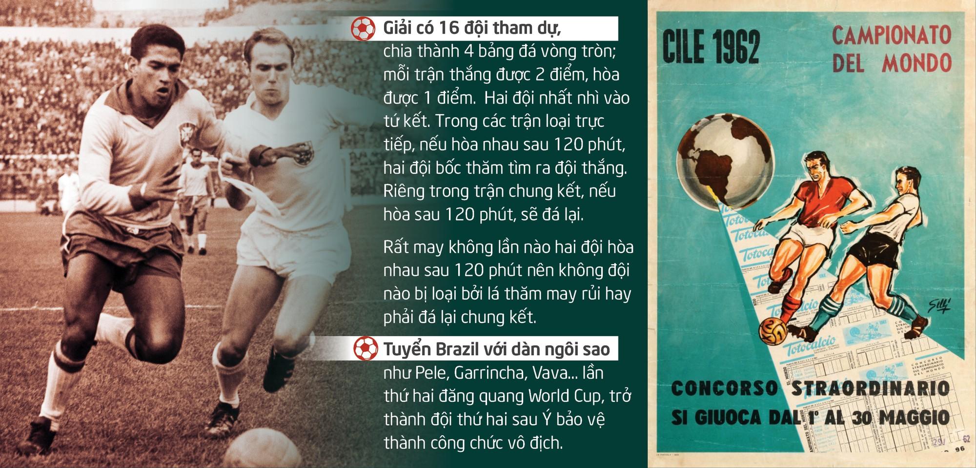 World Cup 1962: Từ động đất kinh hoàng đến trận đấu bạo lực nhất - Ảnh 9.