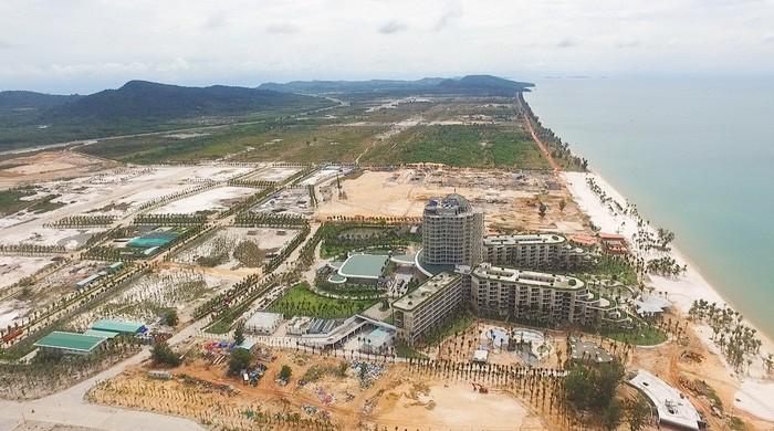 TP Phú Quốc trong tương lai được kỳ vọng trở thành trung tâm du lịch khu vực Đông Nam Á - Ảnh: TT