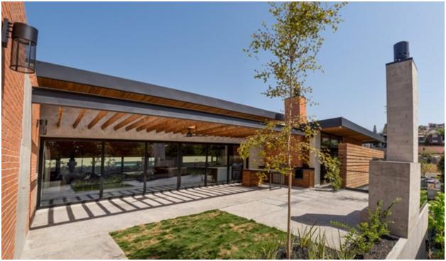 Ngôi nhà bằng vật liệu tái chế vừa đẹp, vừa sang - Ảnh 2.