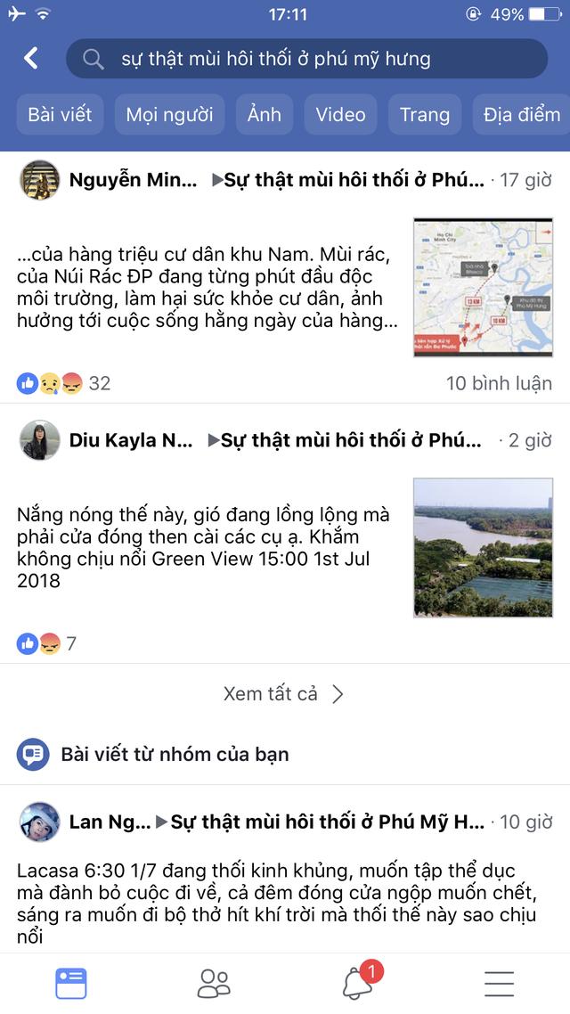 Cuộc sống người dân Phú Mỹ Hưng đảo lộn vì mùi hôi của rác - Ảnh 2.