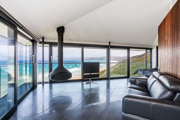 Ngôi nhà nghỉ dưỡng lơ lửng trên mặt biển ở Úc - Ảnh 9.