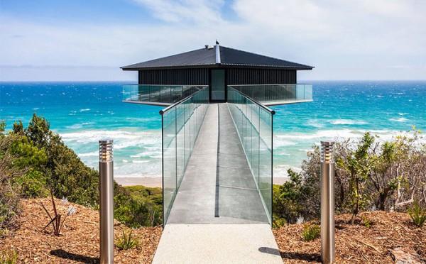 Ngôi nhà nghỉ dưỡng lơ lửng trên mặt biển ở Úc - Ảnh 10.
