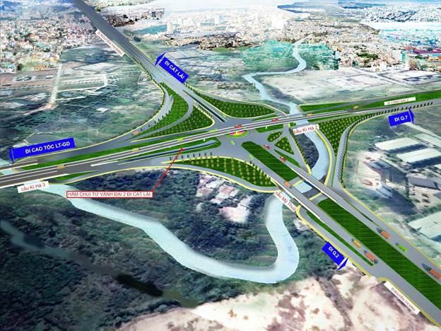 1.150 tỉ đồng xây nút giao thông Mỹ Thủy giai đoạn 2 - Ảnh 2.
