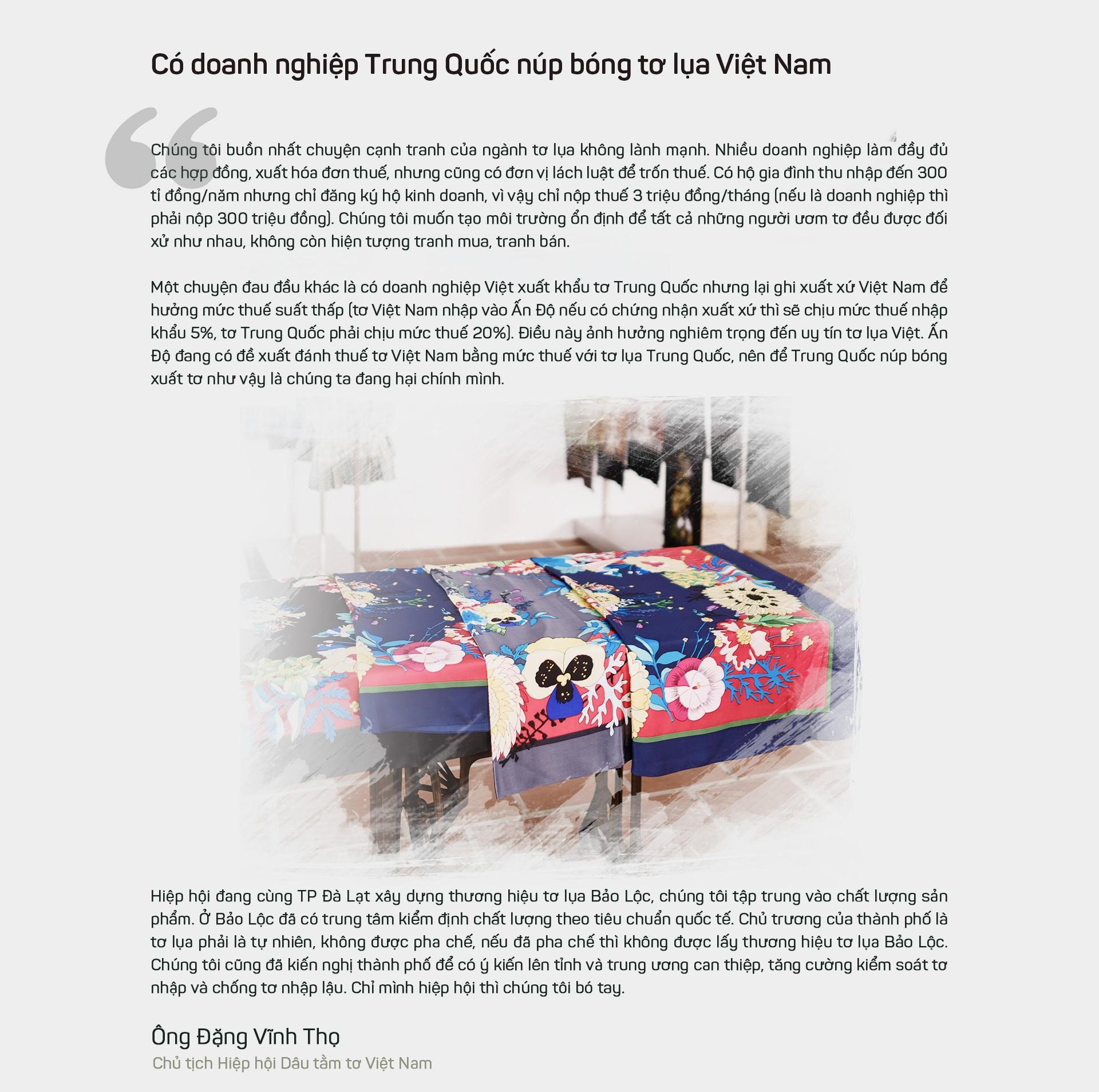 Tơ lụa Việt Nam: Sứ mệnh mới của thủ phủ tơ tằm Bảo Lộc - Ảnh 9.