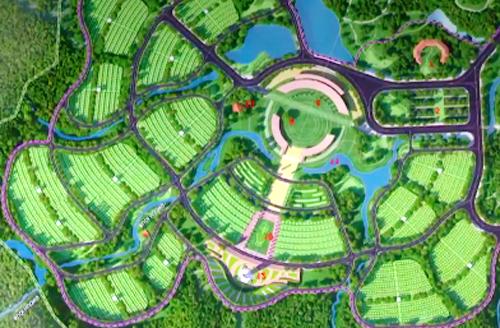 1.400 tỉ đồng xây nghĩa trang cấp quốc gia Yên Trung - Ảnh 1.