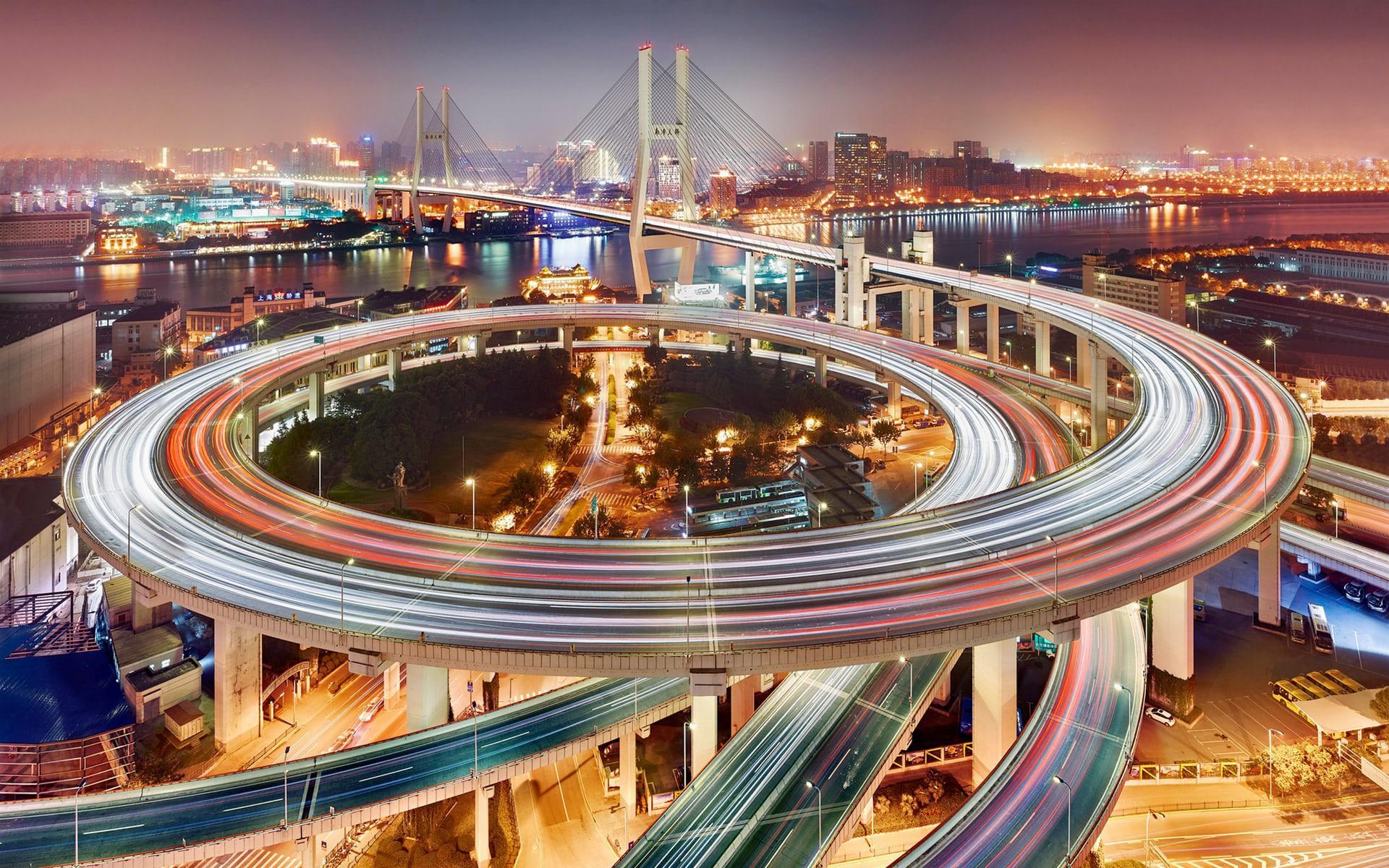 Ngắm ảnh các thành phố huyền thoại và rực rỡ về đêm