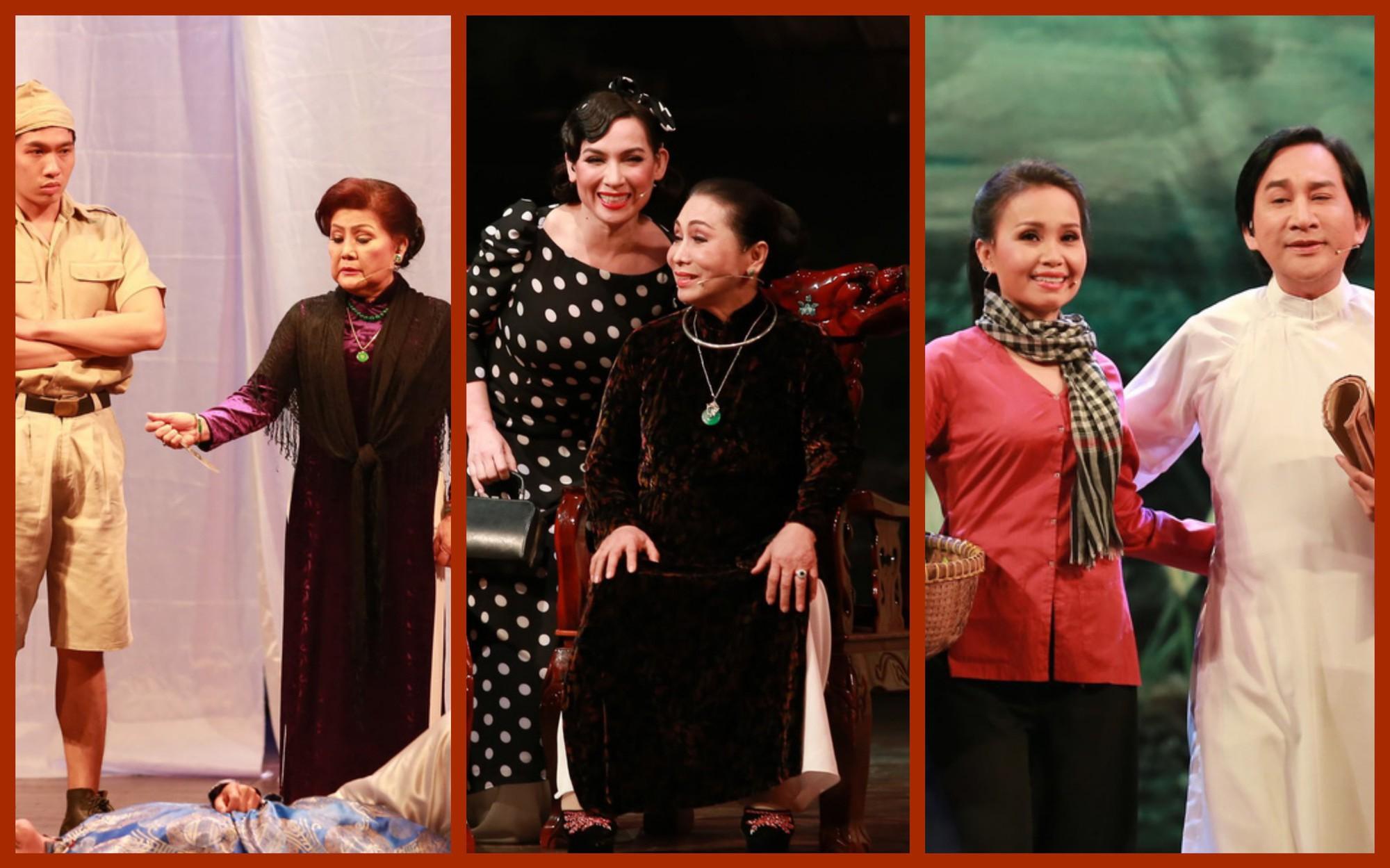 3 cô Lựu trong Đời cô Lựu phiên bản có Bolero