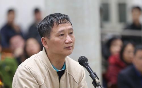 Tự bào chữa, ông Trịnh Xuân Thanh xin lỗi ông Đinh La Thăng - Ảnh 1.