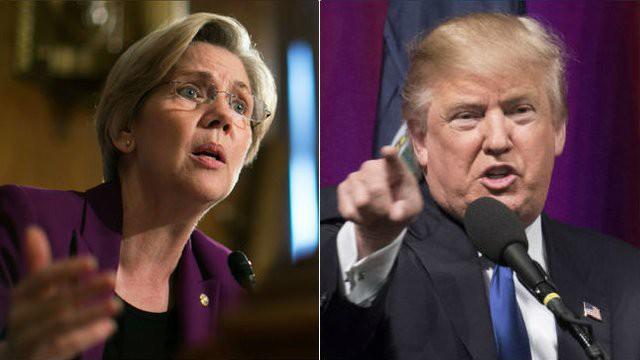 Ông Trump lập tức khiêu chiến nữ ứng viên đua ghế tổng thống 2020 - Ảnh 1.