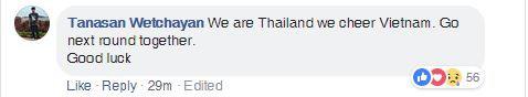 CĐV Thái Lan, Hàn Quốc chúc mừng chiến thắng của Việt Nam - Ảnh 2.