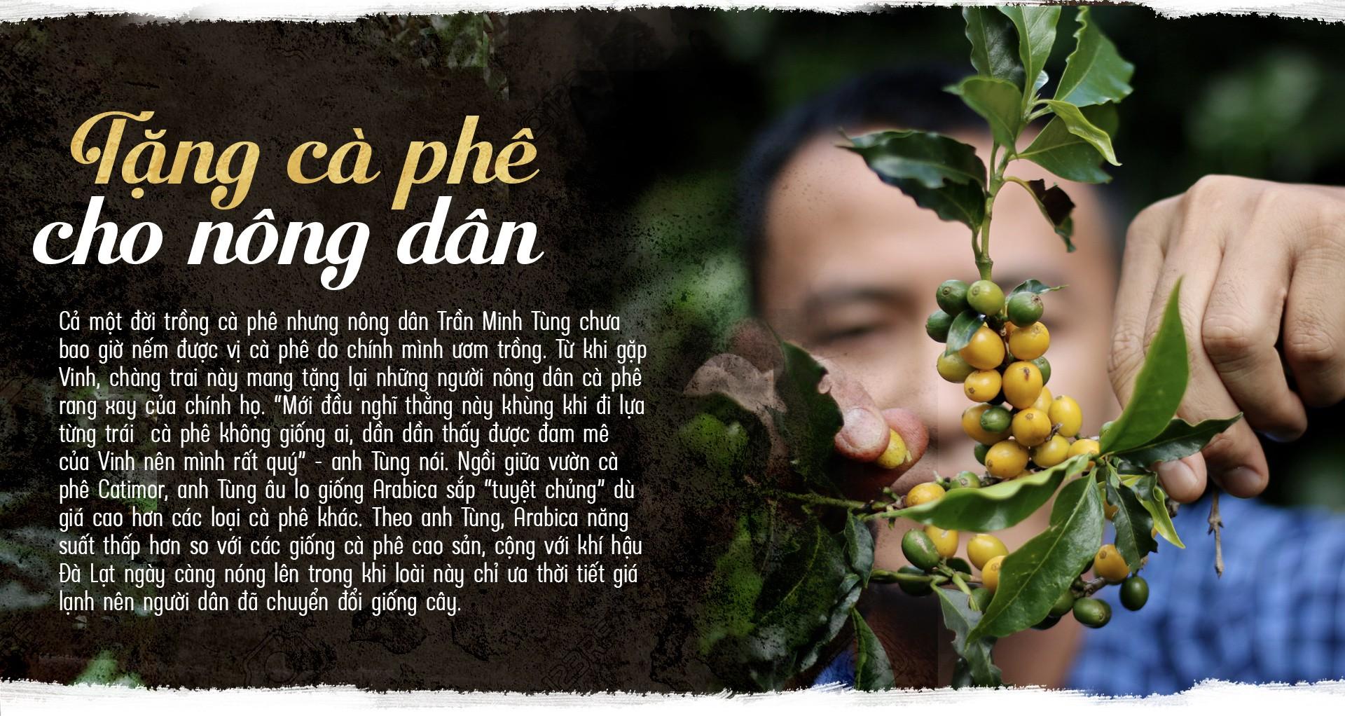 Tinh hoa đất rừng Đà Lạt trong tách cà phê - Ảnh 13.