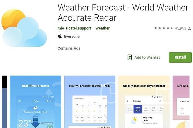 Ứng dụng thời tiết phổ biến nhất bị tố thu thập dữ liệu trái phép - Ảnh 1.