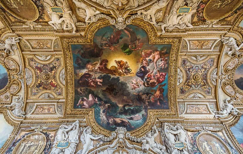 Những tuyệt tác trần nhà đẹp nhất thế giới - Ảnh 8.