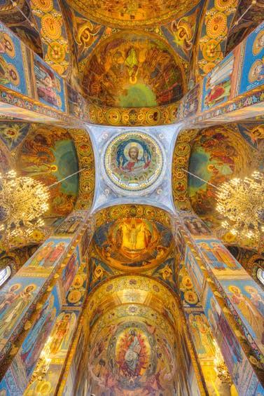 Những tuyệt tác trần nhà đẹp nhất thế giới - Ảnh 3.