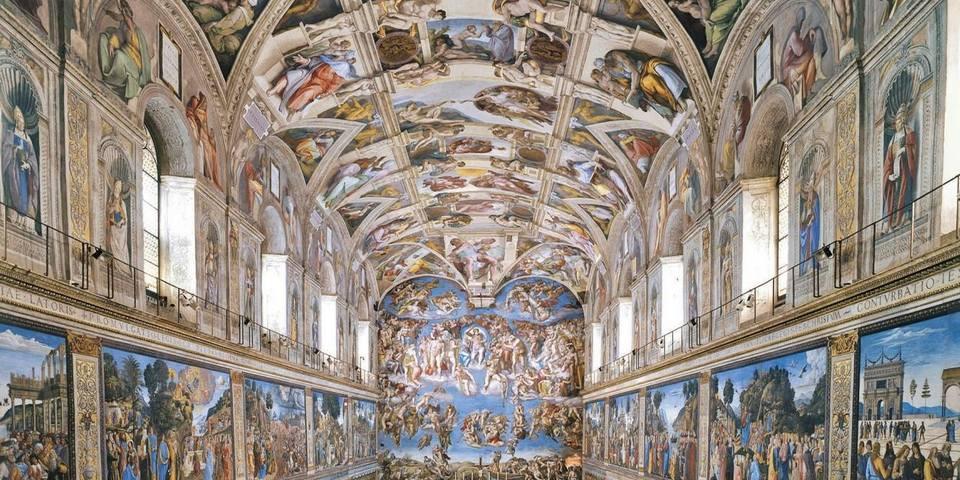 Những tuyệt tác trần nhà đẹp nhất thế giới - Ảnh 6.