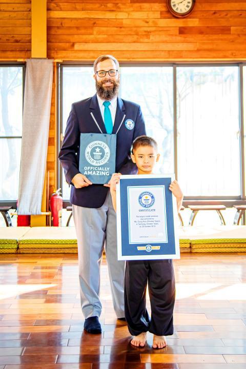 Lập kỷ lục Guinness nhờ sở hữu 158 huy chương võ thuật khi mới 7 tuổi - Ảnh 1.