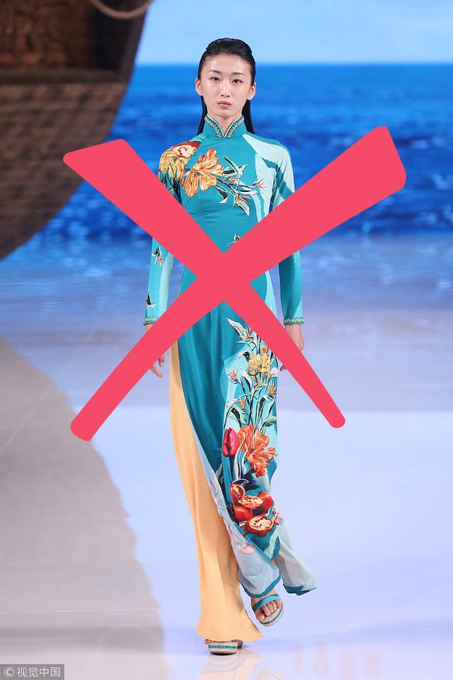 Nhà thiết kế Trung Quốc từng ăn cắp mẫu áo dài Việt, giờ lại nói về phẩm giá trang phục Trung Quốc - Ảnh 7.