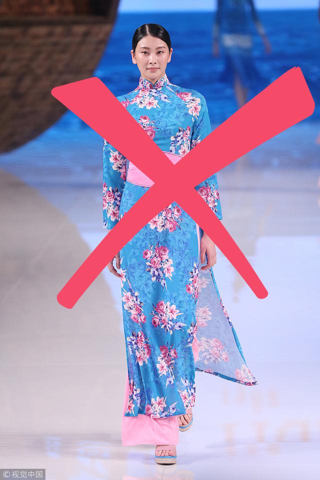 Nhà thiết kế Trung Quốc từng ăn cắp mẫu áo dài Việt, giờ lại nói về phẩm giá trang phục Trung Quốc - Ảnh 2.