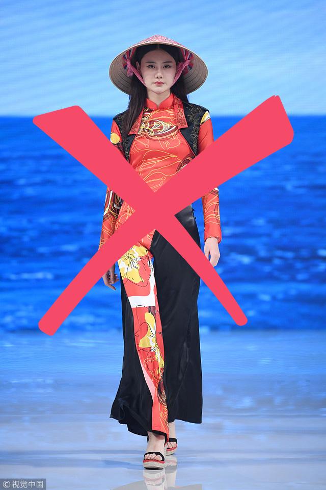 Nhà thiết kế Trung Quốc từng ăn cắp mẫu áo dài Việt, giờ lại nói về phẩm giá trang phục Trung Quốc - Ảnh 1.