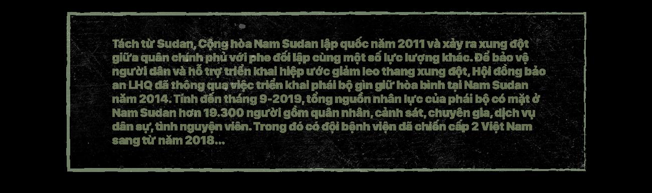 Kỳ 1: Trực tiếp chứng kiến mũ nồi xanh Việt Nam gìn giữ hòa bình ở Nam Sudan - Ảnh 9.