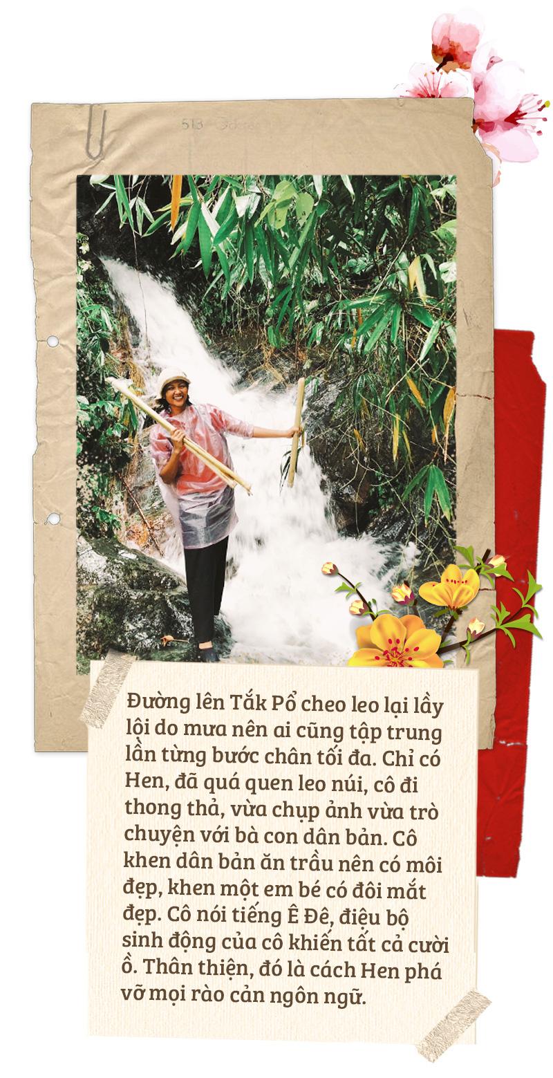 Tuổi Trẻ, HHen Niê đến với cô trò Tắk Pổ và câu chuyện bìa báo Tết Canh Tý 2020 - Ảnh 7.