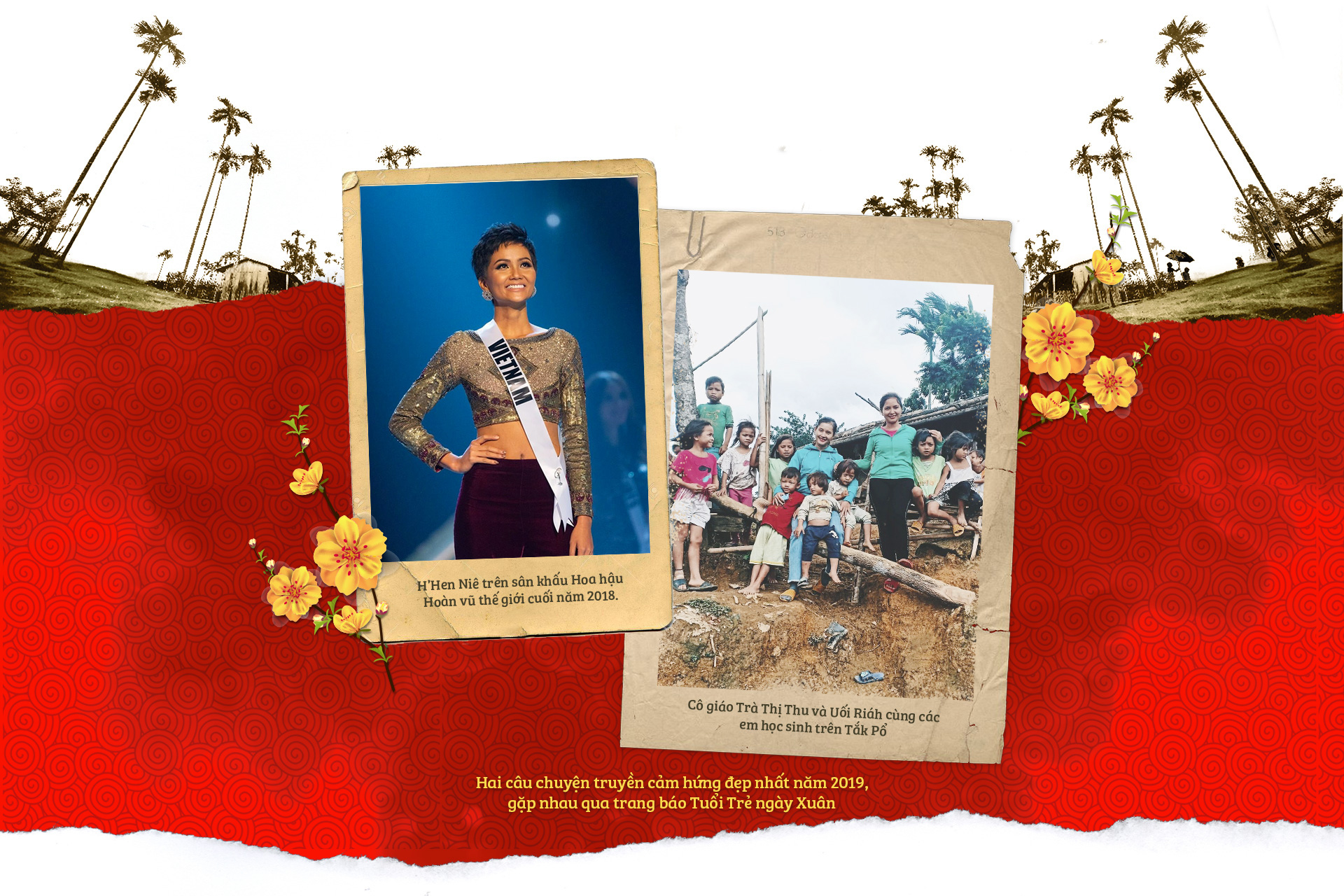 Tuổi Trẻ, HHen Niê đến với cô trò Tắk Pổ và câu chuyện bìa báo Tết Canh Tý 2020 - Ảnh 5.
