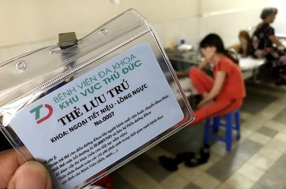 Bệnh viện Đa khoa khu vực Thủ Đức thu tiền xét nghiệm BHYT sai quy định - Ảnh 3.