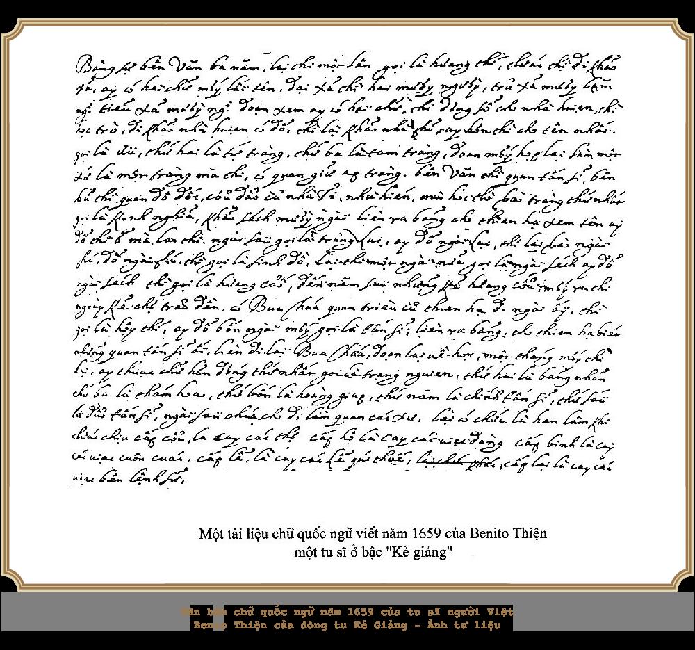 Kỳ 1: Khởi đầu của chữ quốc ngữ - Ảnh 7.